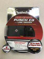 ROCKFORD FOSGATE RFPEQU / UNIVERSAL BASS KNOB / LOC / BUILT IN LINE DRIVER *NEW*
