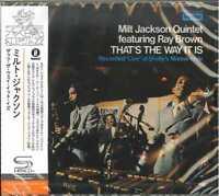MILT JACKSON-THAT'S THE WAY IT IS -JAPAN SHM-CD C94