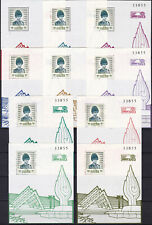 Thailand - 1993 Philatelic Exhibition Sc 1552 Mnh S/S's Thai Ss85-Ss94 - Look!