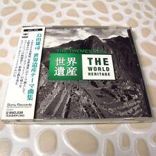 Yuji Toriyama - The Themes from The World Heritage JAPAN CD W/OBI #114-2