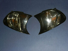 NEW Pair Front Indicators Repeaters BMW 3 SERIES E46 coupe/convertible - SMOKED