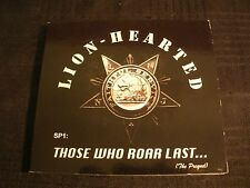 LION - HEARTED - Those Who Roar Last - 2013 Digi pack CD / Exc./ Hard Funk Rock