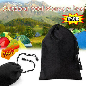 Storage Bag Drawstring Nylon Waterproof Dustproof Pouch For Outdoor Travel