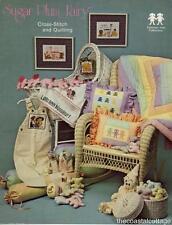 Sugar Plum Fairy Cross-Stitch and Quilting Baby Animals Children Clowns Hearts