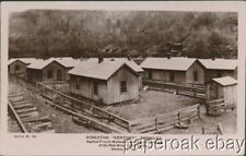 1910 Asbestos Shingles On Miners Cottages Gentry, West Virginia  Photo Postcard