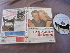 Ce que veulent les femmes de Nancy Meyers (Mel Gibson,Helen Hunt), DVD, Comédie