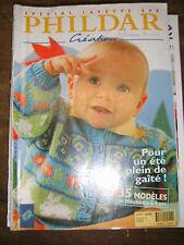Phildar Créations N°277 Printemps Eté 1996 Spécial Layette Tricot Bébé Trousseau