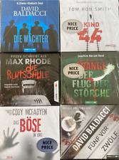 XXL HÖRBUCH-PAKET |  6  Krimi / Thriller  HÖRBÜCHER  auf 34 CD zum Hammerpreis !