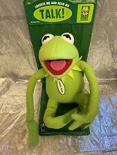 Talking Kermit Large Plush New Applause Muppets * No Sound *