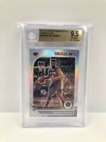 2019-20 Zion Williamson NBA Hoops Premium Stock Silver 9.5 Gem Mint