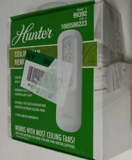 Hunter Universal 3-Speed Ceiling Fan Handheld Remote Control - White (99392)