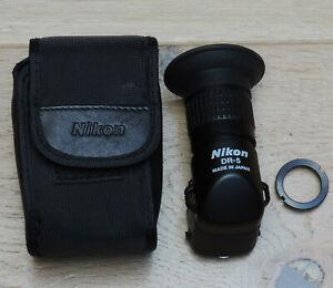 DR-5 Nikon, viseur d'angle, Nikon angle view-finder