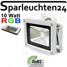 LED Aussen Strahler IP65 mit Fernbedienung 10W Multicolor RGB