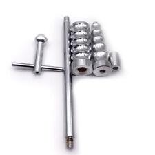 Set Of Car Body Paintless Dent Repair Tool Kit Puller Lifter T-Bar & 10 Tabs New