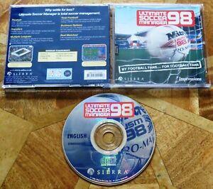 ULTIMATE SOCCER MANAGER 98 (PC CD-ROM) - USM98 FOOTBALL