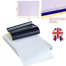UK 5~50x Tattoo Transfer Paper Stencil Carbon Thermal Tracing Hectograph A4 HOT