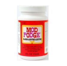 8oz Mod Podge GLOSS FINISH COLLA SIGILLANTE PER DECOUPAGE Modellazione Craft non tossici