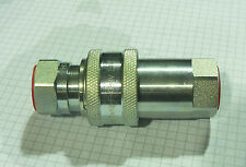 """3/8"""" Hydraulic Coupling Poppet Valve Pull Break ISO 7241-1 Series A 4350 PSI"""
