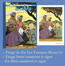 Tirage de Tete Khani LAMBIL Tuniques bleues 50 350ex-s