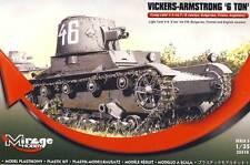 Mirage Hobby - Vickers Armstrong 6ton mk F/B Light tank Modell-Bausatz 1:35 kit
