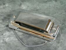 NEW Rickenbacker 4003 Bass Guitar Chrome Bridge Pickup Ring Cover Assembly Parts