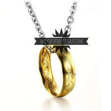 IL SIGNORE DEGLI ANELLI COLLANA ANELLO UNICO lord of the rings the hobbit smaug