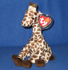 TY SLAMDUNK the GIRAFFE BEANIE BABY - MINT with MINT TAGS