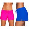 Women's Swim Shorts Bikini Bottoms Boardshort Beach Party + Plus Size + Colours