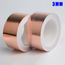 Conduction Tape Single/bidirectional Slug Foil 3-50mm 20m Uk Copper Adhesive