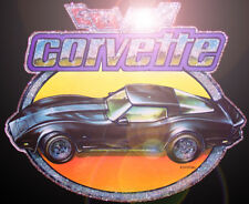 70s vTg Chevrolet Corvette Stingray ZR1 80s Kenner Mask Raven t-shirt iron-on