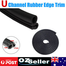 Car Rubber Seal Trim Door/Edge/Trunk/Window Pinch Weld Anti Heat-Noise-Dust 2Ms