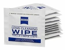 Zeiss Pre-Moistened Lens Cloths Wipes 100 Ct Glasses Camera Phone LCD Cleaning