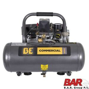 BE Commercial 7.5 Litre Oil Free Quiet Air Compressor - 65L/min FAD