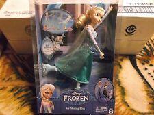Disney Frozen Ice Skating Elsa Doll 12 inch. Unopened. 2014 Mattel. Girls 4+
