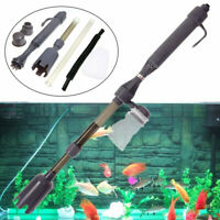 Electric  Aquarium Cleaner Siphon Fish Tank Pump Vacuum Gravel Water Filter