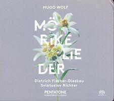 Wolf / Fischer-Dieskau / Richter - Morike Lieder [New SACD] Hybrid SACD