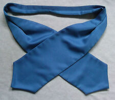 Ascot Cravat MENS Wedding Scrunchie Ruche One Size SKY BLUE