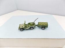 Zee Zylmex Army Jeep - AWESOME - Vintage T432 - HO Scale