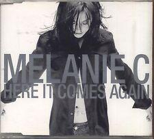 MELANIE C - Here it comes again - CDs  SINGLE 2003 USATO OTTIME CONDIZIONI