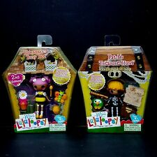 Lalaloopsy 2 Mini Dolls NEW Blossom Busy Bee Patchs Treasure Hunt SEALED 2011