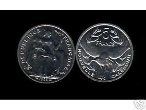 NEW CALEDONIA 5 FRANCS KM-16 1989 x 1 Piece KAGU BIRD MONEY PACIFIC COLONY COIN