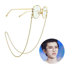 Eyeglass Cord Reading Glasses Eyewear Spectacles Chain Strap Holder Gold MC