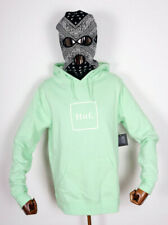 Huf Worldwide Sweatshirt Hooded Pullover Hoodie Box Logo Neo Mint in M