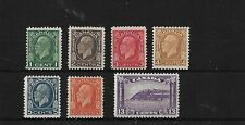 CANADA SG319/25, 1932-3 SET, MOUNTED MINT, CAT £170