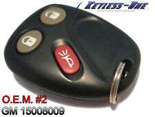 02-04 OLDSMOBILE BRAVADA KEYLESS ENTRY REMOTE OEM KEY FOB 15008009 MYT3X6898B #2