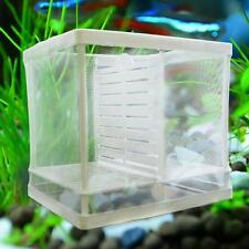 Breeding Isolation Fish Tank Plastic Frame Breeder Fry Hatchery Net Incubator