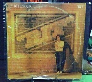 LEE RITENOUR 'RIT' RECORD/VINYL ALBUM LocaL PRESS
