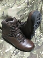 More details for genuine british issue brown iturri patrol boots!excellent/grade 1!various sizes!