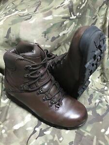 Genuine British Issue Brown Iturri Patrol Boots!excellent/grade 1!various sizes!