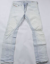 NEUF DIESEL Thanaz 8880 L Jeans 29x32 Slim Skinny Fit Tapered Leg BNWT
